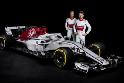 Marcus Ericsson i Charles Leclerc | Fot. Sauber