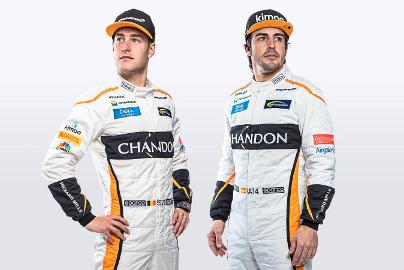 Stoffel Vandoorne i Fernando Alonso