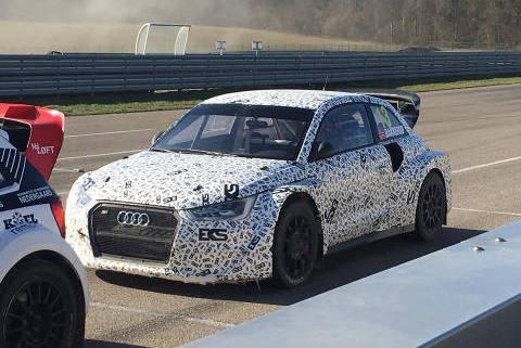 Audi S1 EKS RX | Fot. Facebook