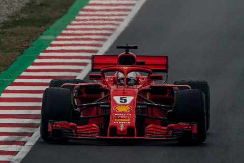 Sebastian Vettel | Fot. Ferrari