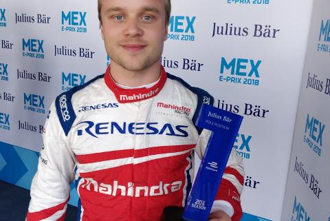 Felix Rosenqvist | Fot. Mahindra Racing