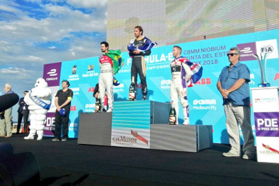 Podium w Punta del Este | Fot. Audi Sport