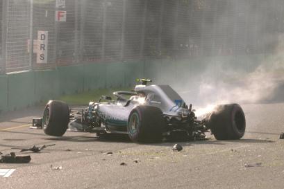 Kraksa Valtteriego Bottasa | Fot. F1