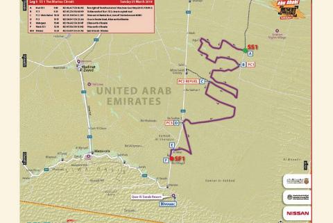 OS1 Abu Dhabi Desert Challenge