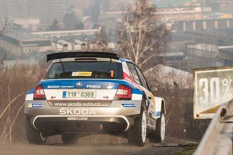 Kopecký/Dresler | Fot. Skoda Motorsport
