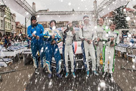 Meta w Międzyrzeczu Wołoskim | Fot. Skoda Motorsport