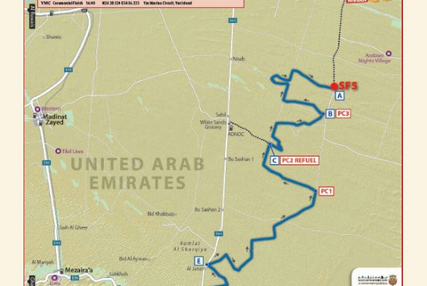 OS5 Abu Dhabi Desert Challenge