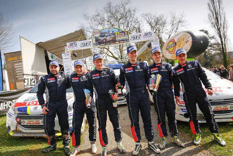 Podium 208 Rally Cup | Fot. 208 Rally Cup