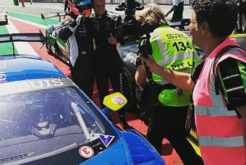 Vito Postiglione i Karol Basz   Fot. Imperiale Racing