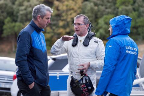 Gerard Jan de Jongh i Dieter Depping | Fot. VW Motorsport