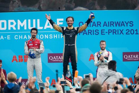 Podium w Paryżu | Fot. FIA Formula E