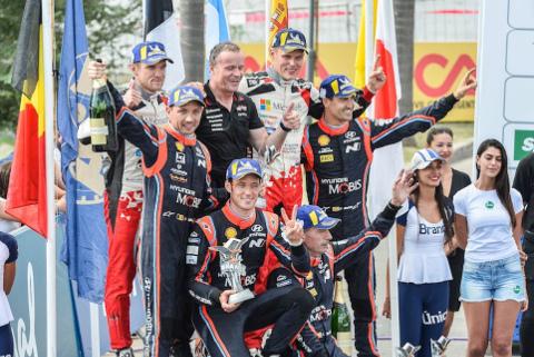 Podium Rally Argentina | Fot. Michelin Motorsport