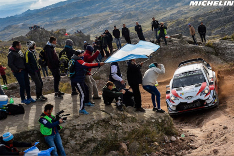 Tänak/Järveoja | Fot. Michelin Motorsport