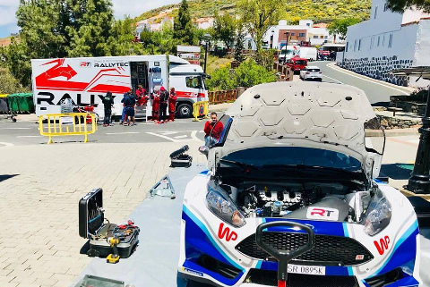 Testy Łukasza Habaja | Fot. Rallytechnology