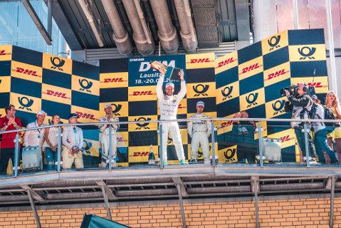 Podium na Lausitzringu | Fot. Mercedes