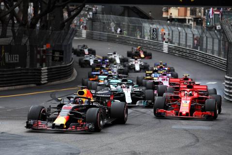 Start w Monako   Fot. XPB