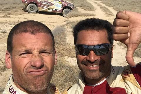 Mathieu Baumel i Nasser al-Attiyah | Fot. Instagram