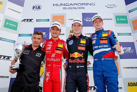 Podium na Hungaroringu | Fot. fiaf3europe.com