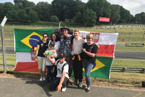 Maciej Dreszer & fans