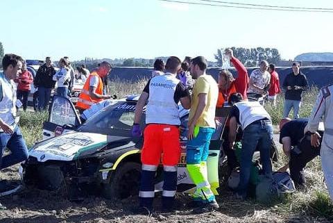 Wypadek Bryana Bouffiera | Fot. Motorsport Forums