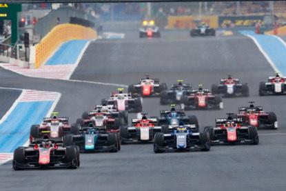 Start na Paul Ricard   Fot. FIA F2