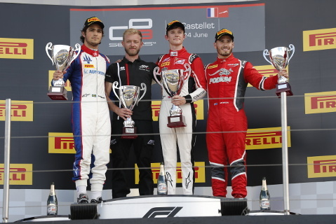 Podium na Paul Ricard | Fot. GP3
