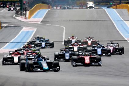 Start na Paul Ricard | Fot. FIA F2