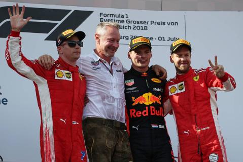 Podium na Red Bull Ringu | Fot. XPB