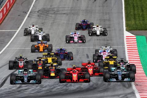 Start na Red Bull Ringu | Fot. XPB