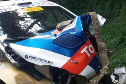 Wypadek Paolo Andreucciego | Fot. Twitter