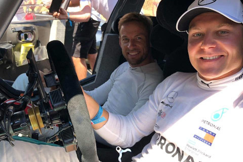 Valtteri Bottas i Jenson Button | Fot. Facebook