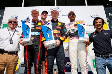 Podium w Spa-Francorchamps | Fot. FIA F3 Europe