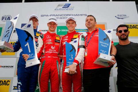 Podium w Spa   Fot. FIA F3 Europe
