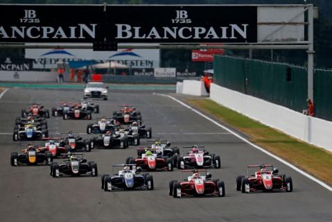 Start w Spa   Fot. FIA F3 Europe