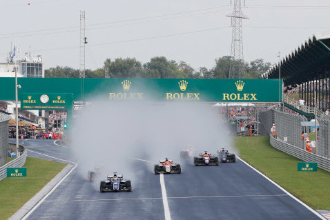 Start na Hungaroringu | Fot. FIA F2