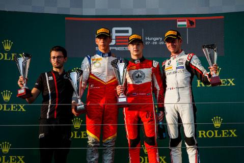 Podium na Hungaroringu | Fot. GP3