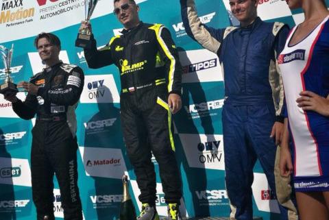 Podium na Slovakia Ringu | Fot. OLIMP Racing