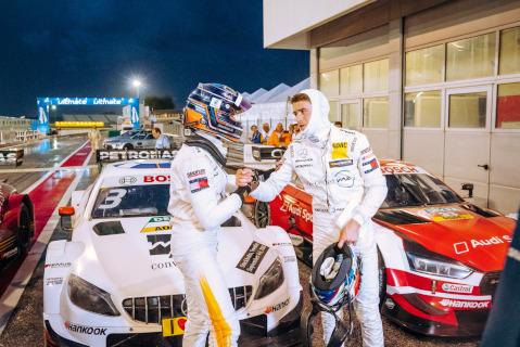 Edoardo Mortara i Paul Di Resta | Fot. Mercedes