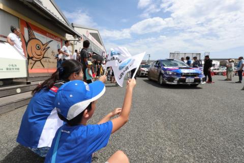 Arai/Tanaka | Fot. Subaru Motorsport