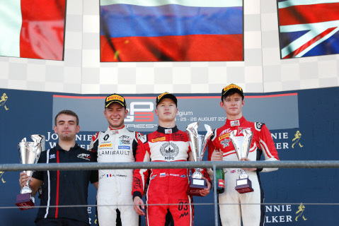 Podium w Spa-Francorchamps | Fot. GP3