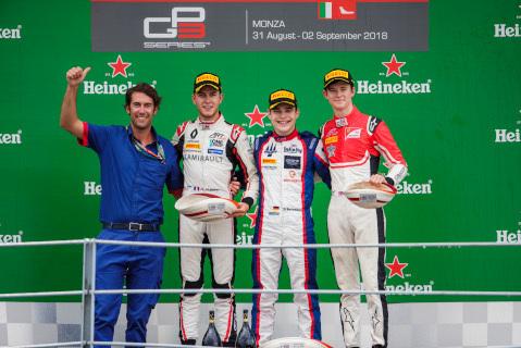 Podium na Monzy | Fot. GP3 Series