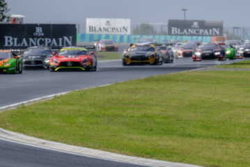Start na Hungaroringu | Fot. blancpain-gt-series.
