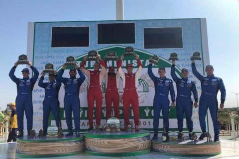 Podium Turkmen Desert Race | Fot. MAZ