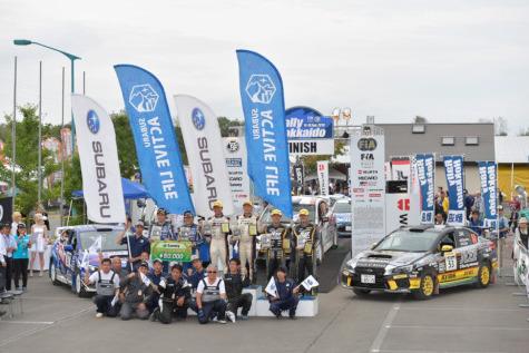 Podium Rally Hokkaido | Fot. Subaru