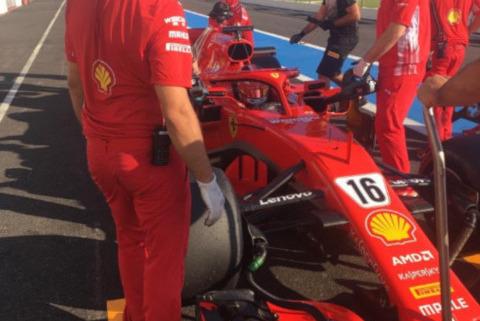 Charles Leclerc | Fot. Pirelli Motorsport