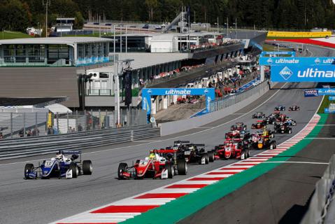 Start na Red Bull Ringu | Fot. fiaf3europe.com