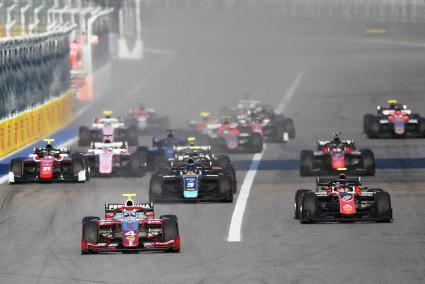 Start w Soczi | Fot. FIA F2