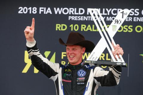 Johan Kristoffersson | Fot. VW Motorsport