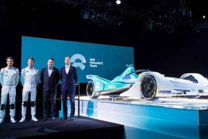 Prezentacja NIO Formula E Team | Fot. ABB Formula E