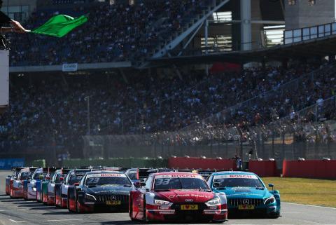 Start w Hockenheim | Fot. Audi Sport